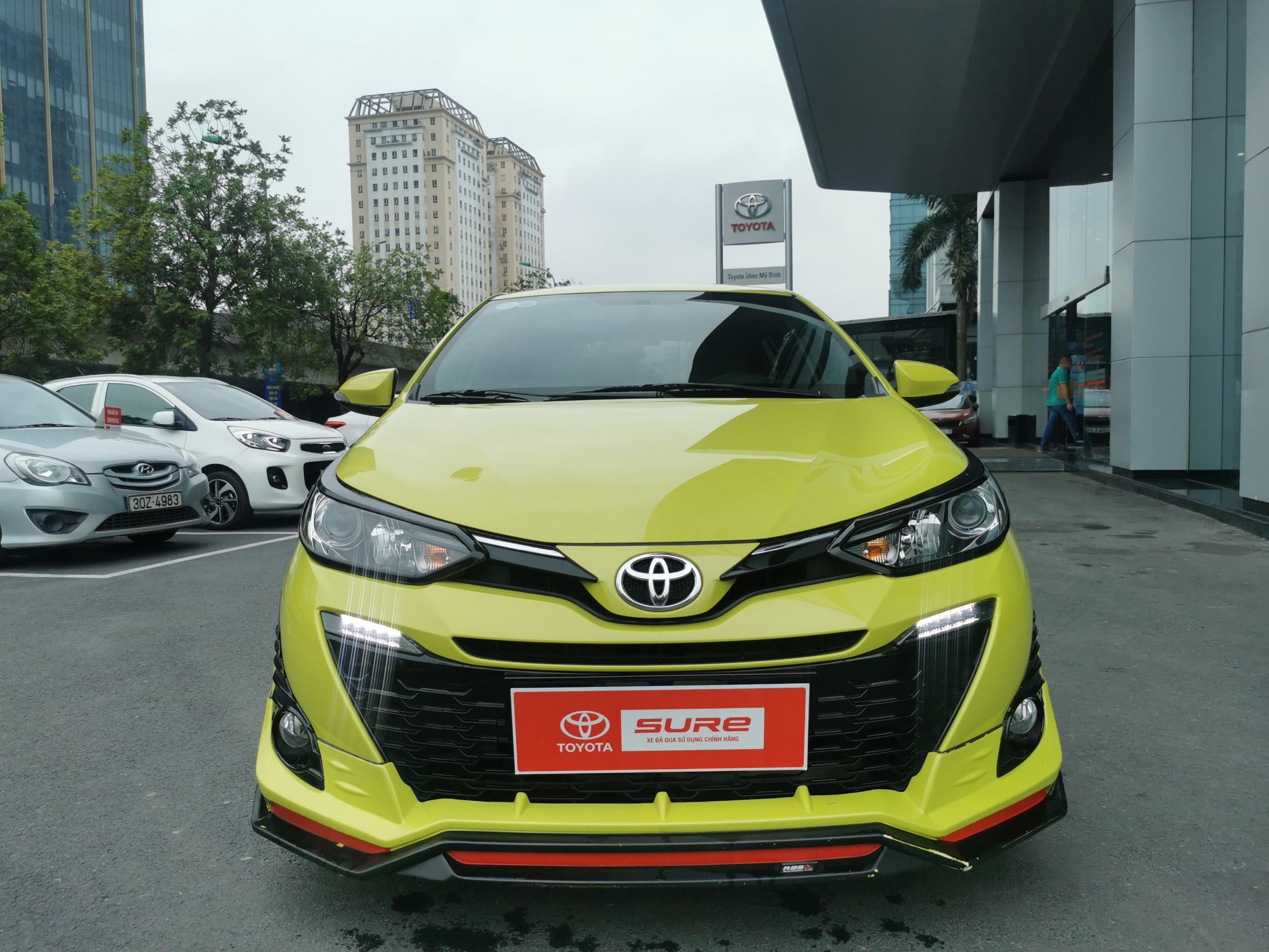 Toyota Yaris G 2018 màu vàng đẹp như mới