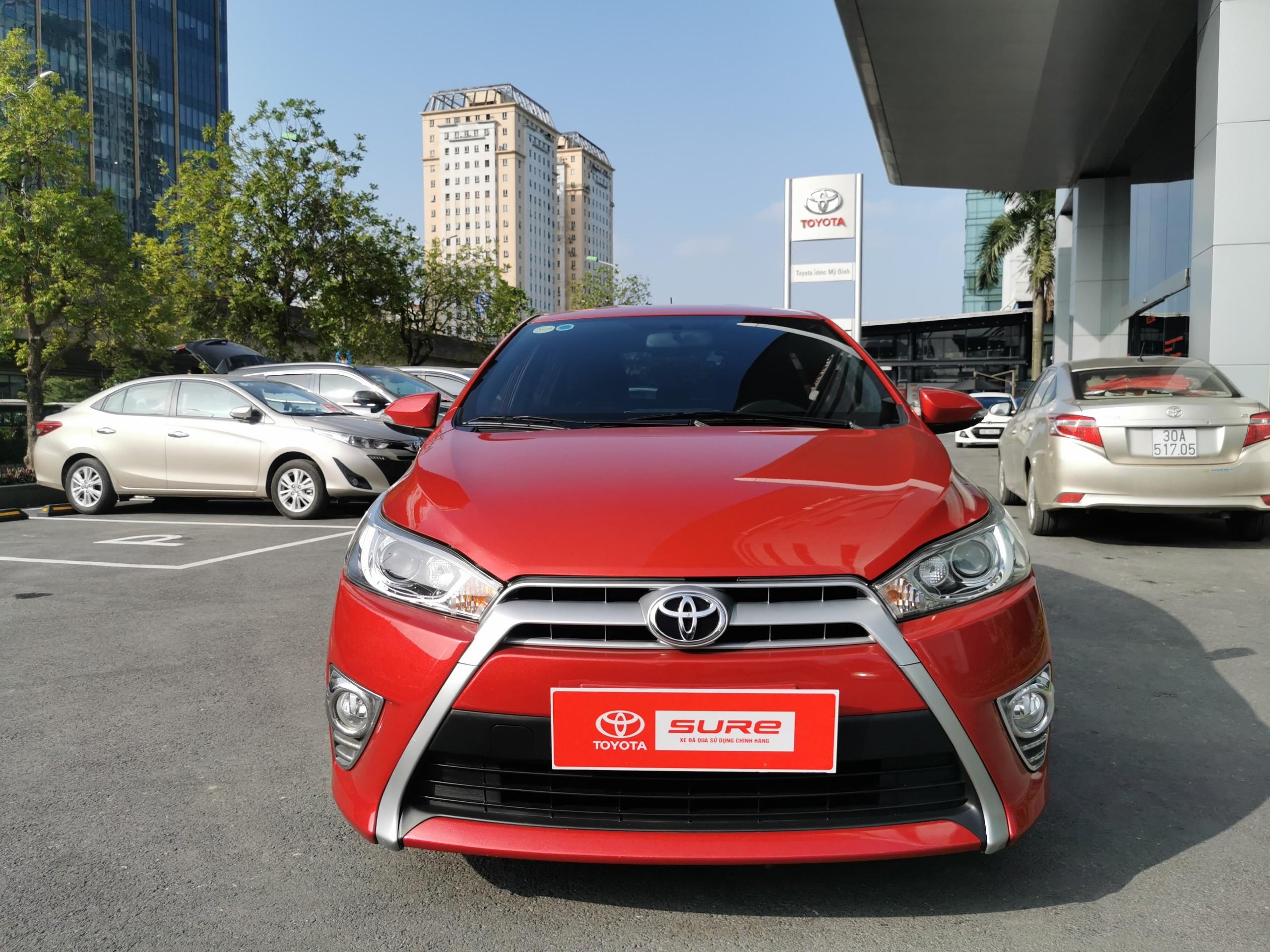 Toyota Yaris G 2014 màu đỏ