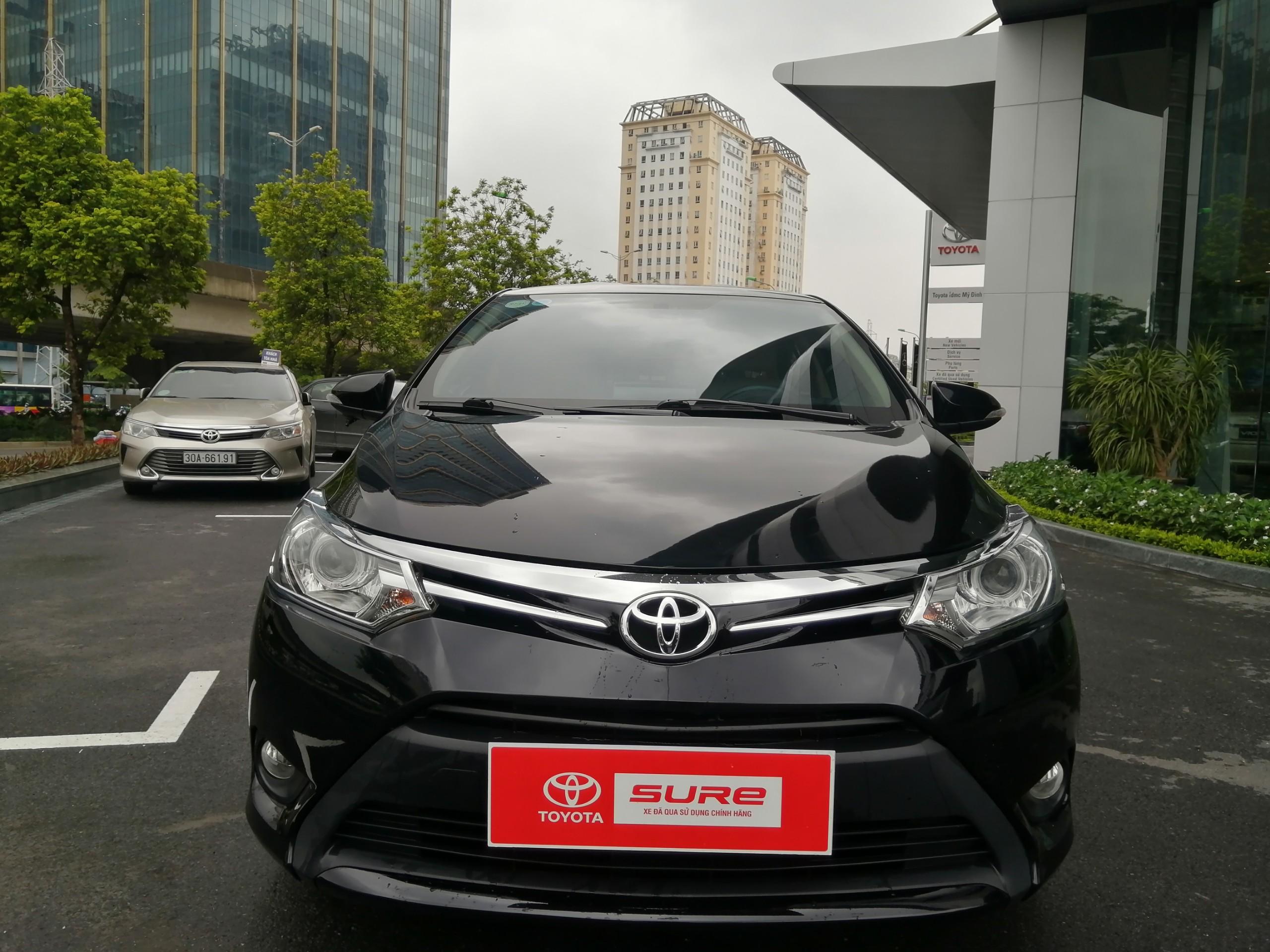 Toyota Vios ECVT 2018 - Đen