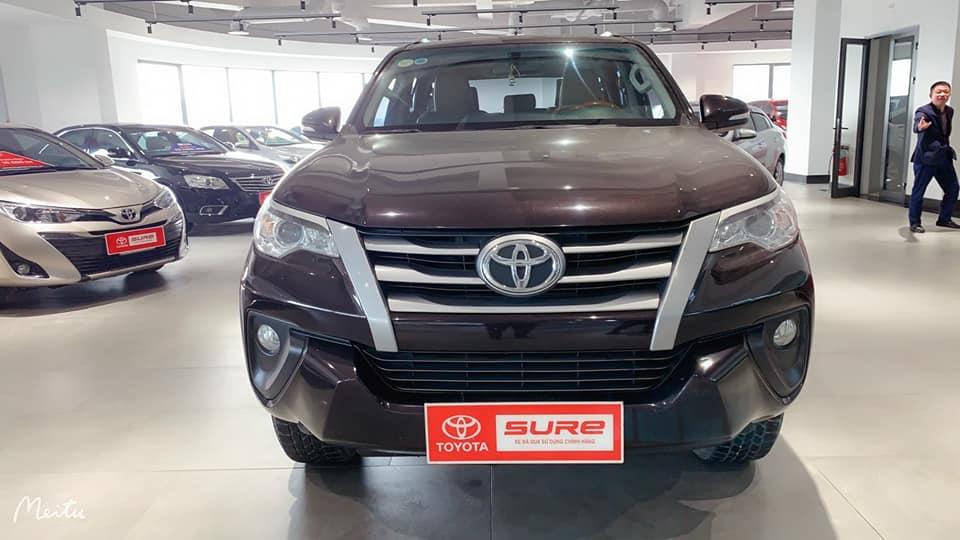 Toyota Fortuner 2.4G 2016 form 2017 màu nâu