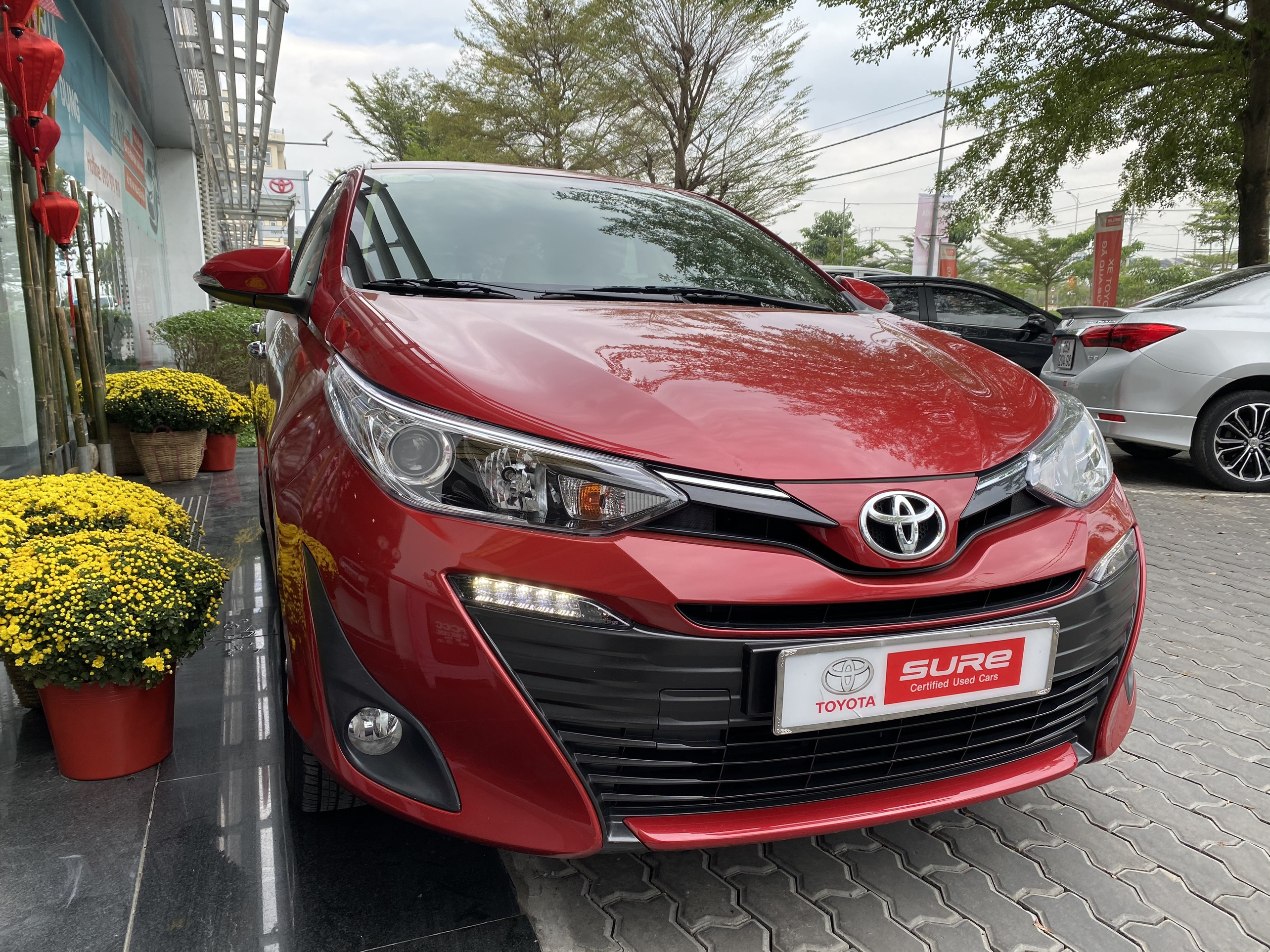 TOYOTA VIOS G AT 2019 - 7.000KM