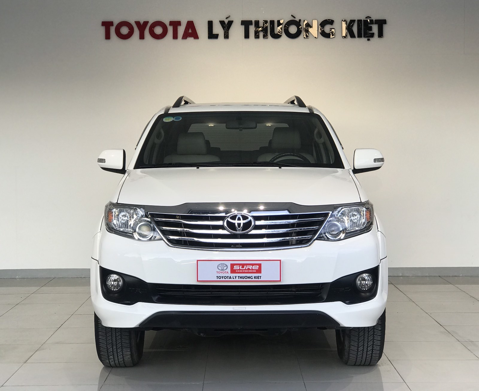 TOYOTA FORTUNER TRD 2.7AT 4x2 - 2014