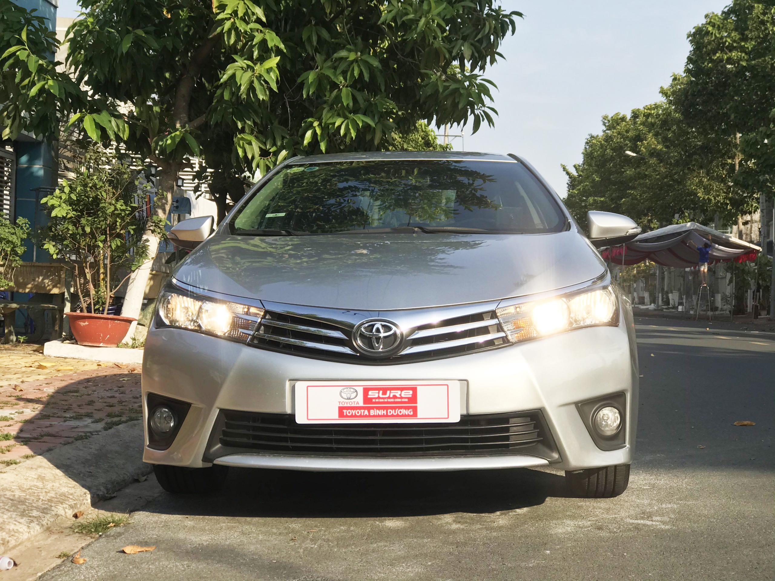Toyota Corolla Altis 1.8G 2015 - 1 chủ từ đầu