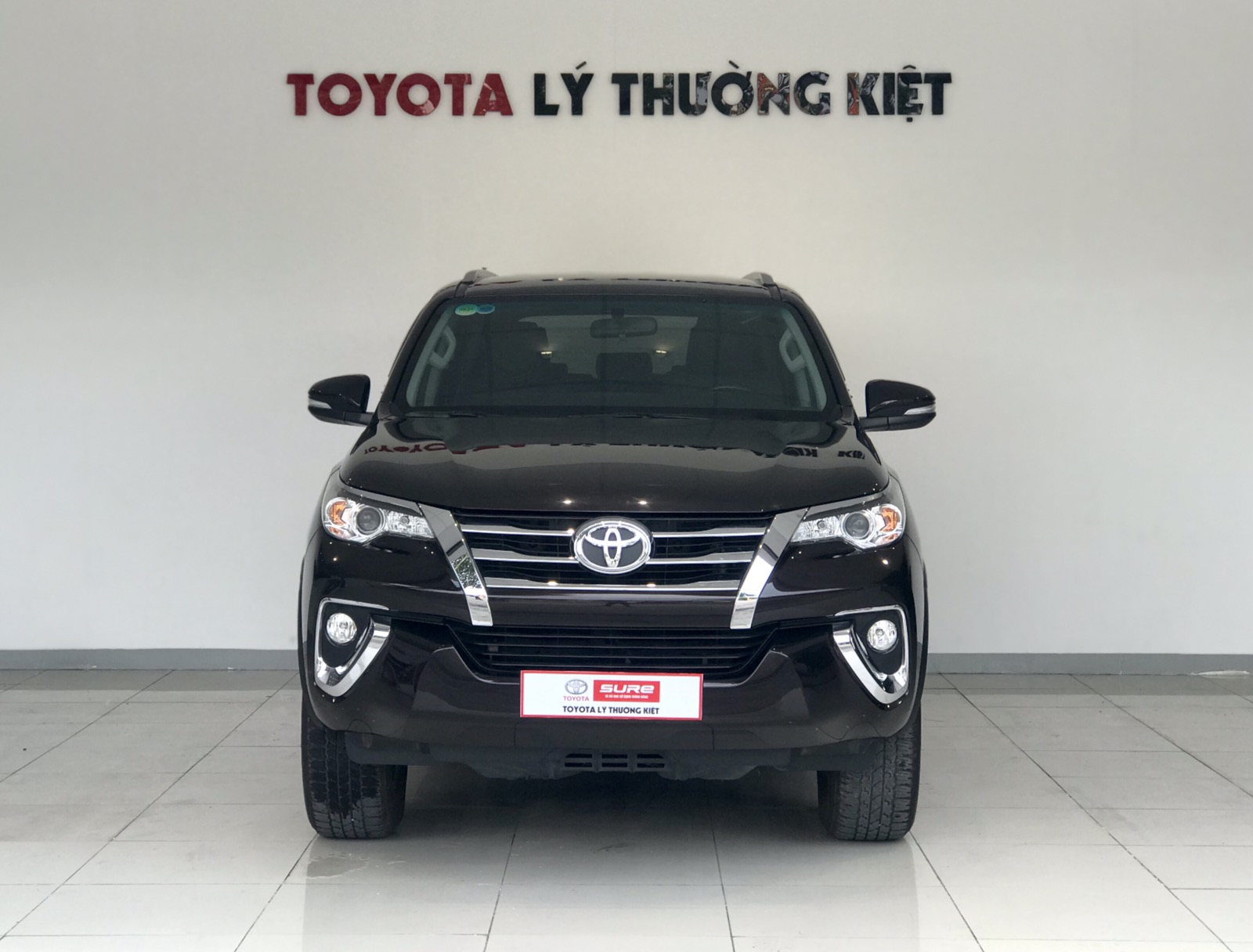 TOYOTA FORTUNER 2.7AT 4x2 - 2017